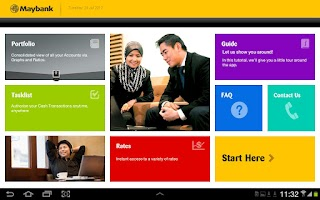 Screenshot of Maybank2E (HD)
