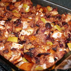 Cranberry Apple Raisin Stuffing
