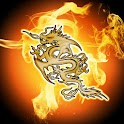 Fire Dragon, Theme 480x800 icon