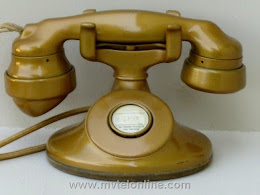 Cradle Phones - Western Electric 202 Gold 1