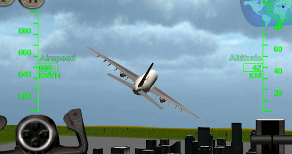 APK Game 3D Airplane Flight Simulator for iOS