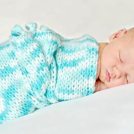 Snug as a bug by Melanie Pista - Babies & Children Babies ( blanket, sweet, blue, cuddly, newborn )