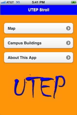 UTEP Stroll