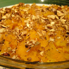 Maple Baked Squash with Balsamic Vinegar