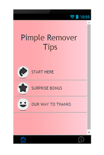 Pimple Remover Tips - screenshot