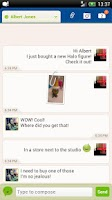 Screenshot of Go!Chat for Facebook