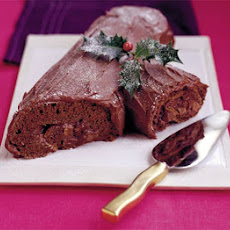 Yule Chocolate Log