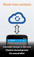 Screenshot of Contacts Transfer Backup Sync