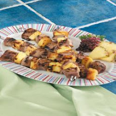 Pineapple Sirloin Skewers