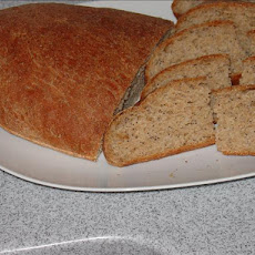 Three Seed Bread (From Bread Machine to Oven)