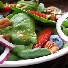 Spinach Salad With Fresh Summer Berries