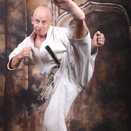 Karate man by Pablo Barilari - Sports & Fitness Other Sports ( kicking, shotokan, karate ka, karate )