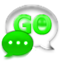 GO SMS Pro Kiwi Glass Theme icon