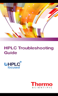 HPLC Troubleshooting Guide - screenshot