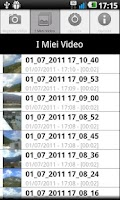 Screenshot of AndStreetVideo recorder