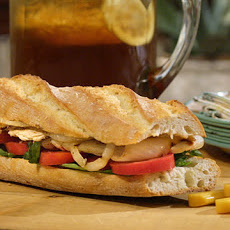 Turkey Paillard Sandwich