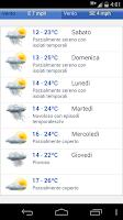 Screenshot of Meteo Italia