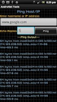 Screenshot of AndroNet Tools