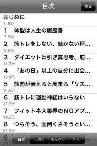【免費書籍App】筋トレセラピー-APP點子