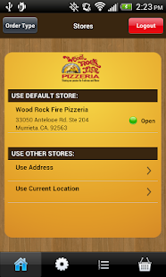 Wood Rock Fire Pizzeria - screenshot
