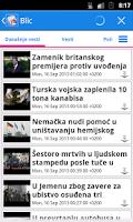 Screenshot of Srbija Vesti