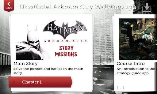 Unofficial Arkham City Guide