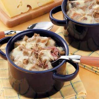 Reuben Chowder with Horseradish