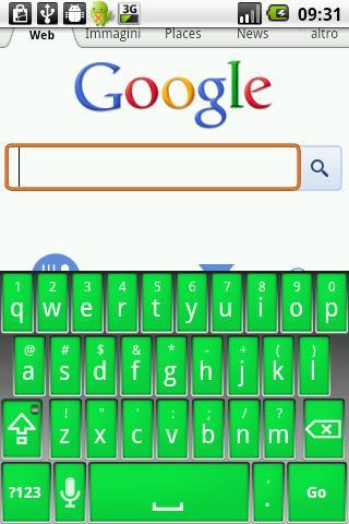 Elegant Green Keyboard Skin
