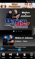 Screenshot of Bayou 95.7 New Orleans