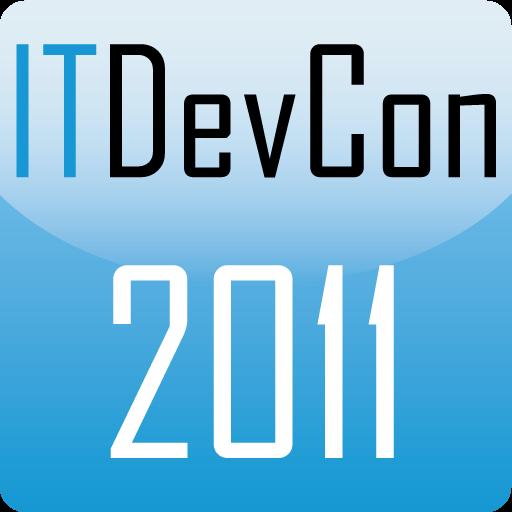ITDevCon 2011 商業 LOGO-阿達玩APP