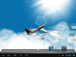 Screenshot of The Flight Live Wallpaper