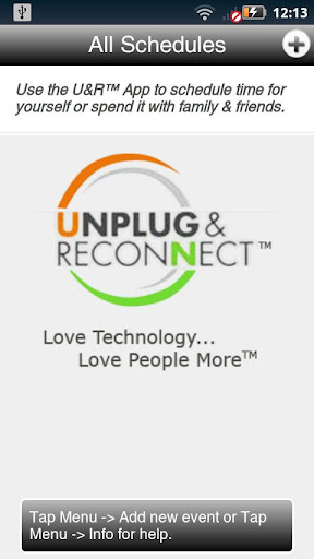 Unplug and Reconnect™