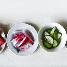 Salt and Sugar Pickles