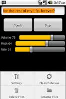Screenshot of Robot Voice