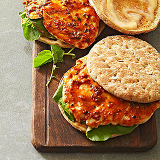 Orange-Soy Chicken Sandwiches