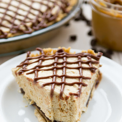 Black Bottom Dulce de Leche Pie