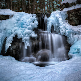 Banadics Road Falls by Gerald Berliner - Nature Up Close Water