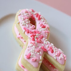 Pretty in Pink Sugar Cookies