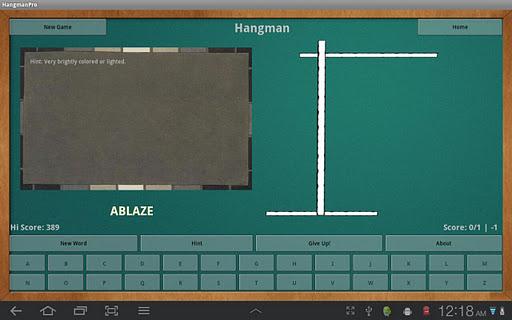 HangmanPro: Play Learn Enjoy