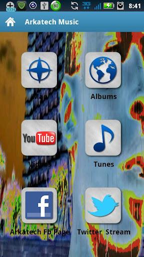 Arkatech Music App