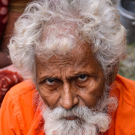 Old & Wise #3 by Rakesh Syal - People Portraits of Men