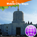 Salem OR Street Map icon
