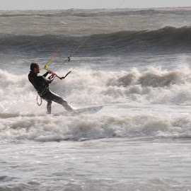 Surf by Prentiss Findlay - Sports & Fitness Watersports ( wind, surfer, waves, ocean, kiteboarding )