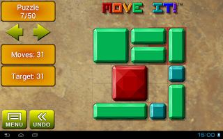 Screenshot of Move it!  Block Sliding Puzzle