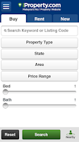 Screenshot of iProperty.com Malaysia