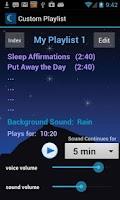 Screenshot of iSleep Easy Sleep Meditations