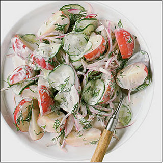 Potato Salad With Cucumbers Recipes