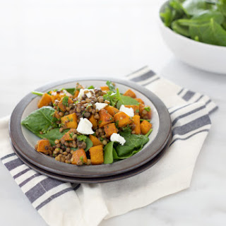 IIRoasted Squash and Lentil Salad