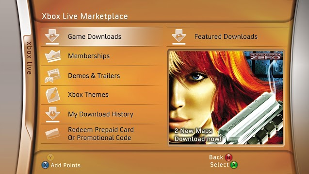 Xbox 360 Guide Screens