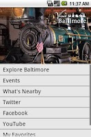 Screenshot of Visit Baltimore